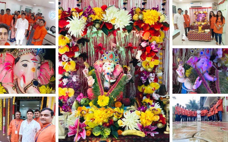 Ganesh Utsav TOP IPS GROUP INDIA