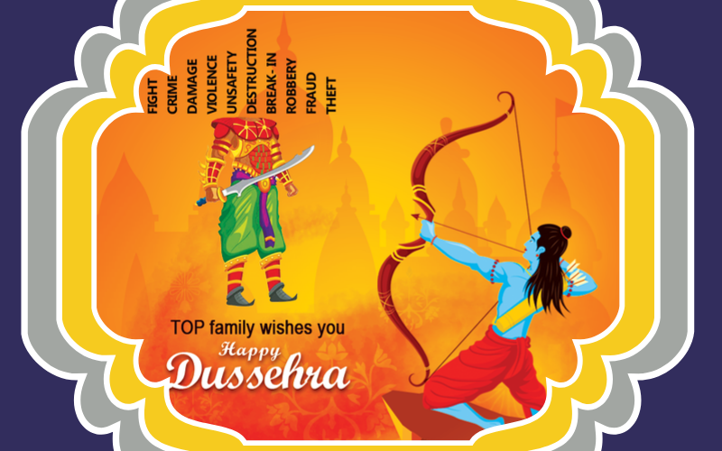 TOP IPS GROUP INDIA-HAPPY DUSSHERA