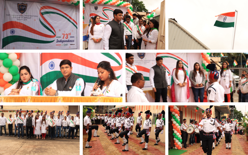 73rd Independence Day Celebration at TOP IPS GROUP INDIA