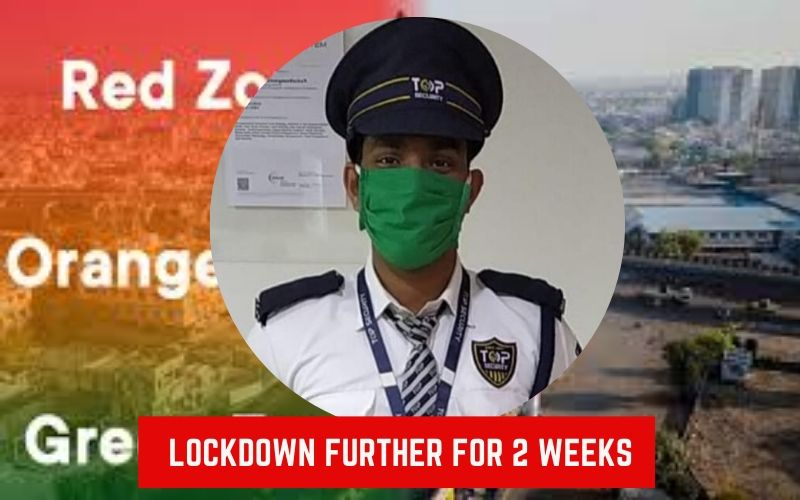 Lockdown extended further two weeks