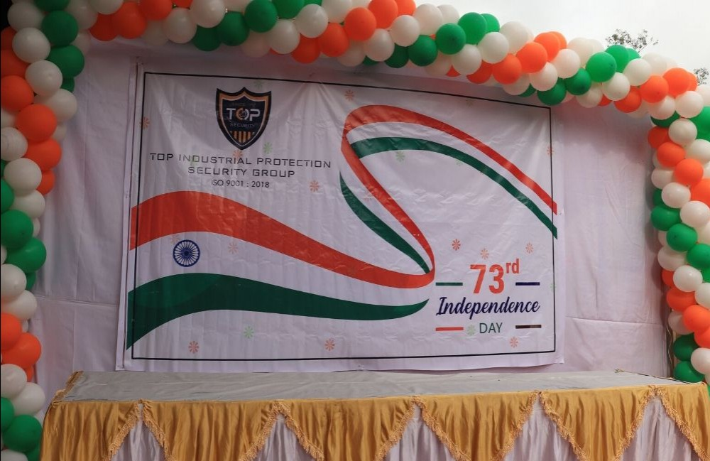 Independence Day Celebration Stage